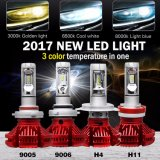 X3 Super Bright Fanless 9005 H11 H4 H7 H1 Bulb Headlight LED for Cars