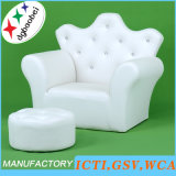Crown Buckle Baby Furniture/Children Sofa and Ottoman/Kids Chair (SXBB-17-02)