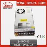 400W 15VDC AC /DC Switching Power Supply with Cooling Fan