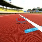 9mm 13mm Synthetic Rubber Track for Outdoor Sports Areas