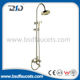 China Antique Brass High Quality Wall Mounted Shower Set C/W Shower Head