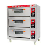 3 Deck 6 Trays Commercial Electric Baking Oven Catering Equipment