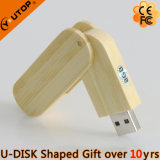 Retating Wood USB Flash Stick for Desk Gifts (YT-8106)
