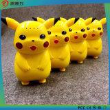 Factory Custom Printed Rechargeable Cartoon Portable Mini Picacho Cute Power Bank