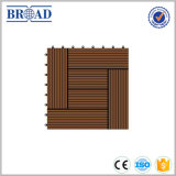 China Direct Sale Price WPC Solid Decking, Various Color and Design DIY Floor