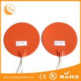12V 24V 48V Factory Direct Sale 1-1.5mm Thickness Slicone Rubber Flexible Hot Plate