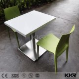 Custom Made Artificial Marble Solid Surface Restaurant Dining Table