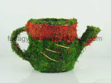 Moss Tea Cup Shaped Garden Planter