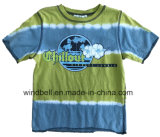 Beach Single Jersey Cotton T-Shirt for Boy with Tie Dye
