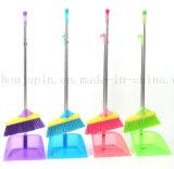 OEM Hot Sale Plastic Stainless Steel Broom Dustpan Set