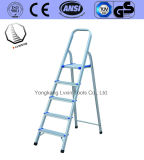En131 Household Aluminium Ladder of 5 Steps