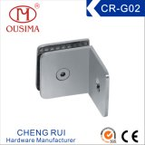 90 Degree Square Single Side Bathroom Glass Connector (CR-G02)