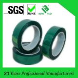 Hi-Temperature Insulation Green Polyester Silicone Adhesive Tape