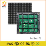 High Brightness Advertising Outdoor P6 SMD3535 Waterproof LED Module