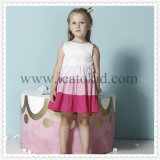Pink Bottom Casual Dress Kids Clothes for Teenage Girl