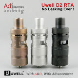New Arrival Original Uwell D2 Rta Tank a&D Stock with Best Wholesale Price