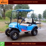Ce Certification 4 Passenger Electric Hunting Golf Cart (Rear flip seats) Electric Vehicles