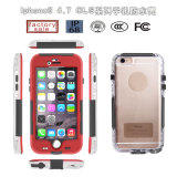 China Wholesale Cls Waterproof PC Mobile/Cell Phone Shock Life Proof Cover Case for iPhone 6 6plus (RPCLS6G)