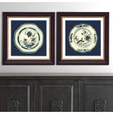 Modern Chinese Wall Porcelain Art Home Decoration Painting