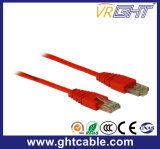 2m Al-Mg RJ45 UTP Cat5 Patch Cord/Patch Cable