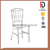 Plastic Wedding Clear Resin Transparent Napoleon Chair