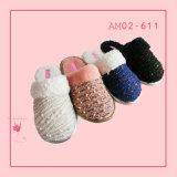 Hot Sale Wonmen Plush Knit Indoor Soft Bedroom Slipper