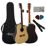 41 Inch Solid Top Electrical Acoustic Guitar (SG02SRCE)