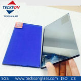 4mm Dark Blue Reflective Windows Glass with CE&ISO9001