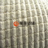 Cut Pile Corduroy Fabric with Non-Woven Backing for Upholstery Sofa Cover