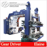 Plastic Film Printing Machine with Double Winds