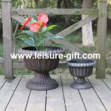 Antique Plastic Plant Pot (FO-9883)