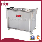 Commercial Gas Bain Marie with Wheels (GBS)
