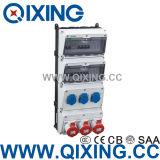 New Type Plastic Power Combination Socket Box