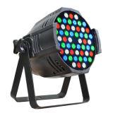 DMX 512 54X3w RGBW LED PAR Can 64 Stage Lighting