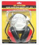 Home Handyman Safety Kit Ear Muffs Ear/Eye/Protector Breathing Mask