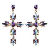 Fashion Brand Diamond Earrings Pierced Earrings