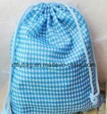 Promotional Shoes Bag Drawstring Polyester Bag (XTFLY00014)