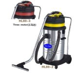 Hai Light 80L Stainless Steel Wet and Dry Vacuum Cleaner
