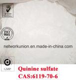 Factory Supply Quinine Sulfate Dihydrate (Quinine Hemisulfate) CAS No: 6119-70-6