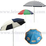 Beach Umbrella with Various Designs