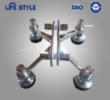 4 Arms Glass Stainless Steel Curtain Wall Spider Glass Fittings