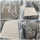 Athens Grey Wooden Vein Marble Steps/Stairs/Risers/Skirts