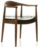 Wooden Dining Arm Chair (DS-C143H)