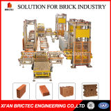 Automatic Brick Loading and Unloading System for Dryer