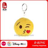 Kiss Emoji Product Plush Key Chain Stuffed Soft Toys
