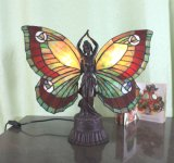 Art Tiffany Table Lamp 746