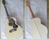 J200 Acoustic Electric Guitar in Wood Colour