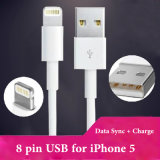 Support Ios 7 8 Pin USB Cable for iPhone 5 5g 5c 5s iPad Mini (OT-05)