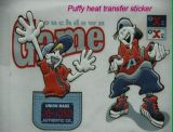 3D Puffy Heat Transfer Stickers for T-Shirt