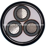 High Voltage 18/30 (33) Kv Aluminum Conductor XLPE Insulated Steel Tape Armored Cable